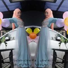 model baju Pusat-Gamis-Terbaru-Sahara-by-Moesje-Dusty-Blue