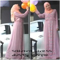model baju gamis pesta Pusat-Gamis-Terbaru-Sahara-by-Moesje-Dusty-Purple