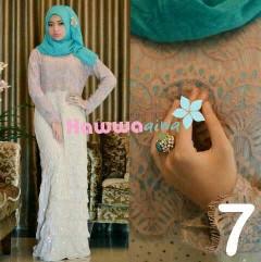 baju muslim bagus Pusat-Gamis-Terbaru-Saphira-Vol-by-Hawwa-aiwa-Kode-7