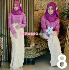 baju muslimah keren Pusat-Gamis-Terbaru-Saphira-Vol-by-Hawwa-aiwa-Kode-8