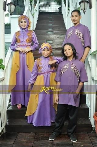 sarimbit hijab Pusat-Gamis-Terbaru-Sarimbit-Rajna-13-Purple