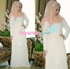 model baju muslim etnik Pusat-Gamis-Terbaru-Shapira2-by-Hawwa-Aiwa-Putih