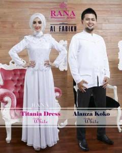 baju muslim dewasa modern Pusat-Gamis-Terbaru-Titan-Dress-dan-Alanza-Koko-Putih
