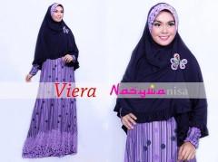 baju muslimah rabbani Pusat-Gamis-Terbaru-Viera-by-Nasywannisa-Ungu