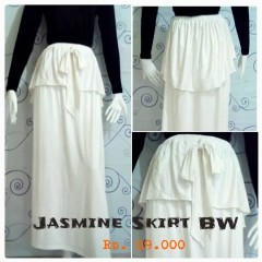 rok panjang fashion Pusat-Gamis-terbaru-New-Jasmine-Skirt-by-Zelia-Broken White