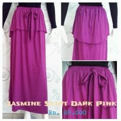 rok panjang grosir Pusat-Gamis-terbaru-New-Jasmine-Skirt-by-Zelia-Dark-Pink