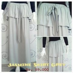grosir rok panjang elegan Pusat-Gamis-terbaru-New-Jasmine-Skirt-by-Zelia-Grey