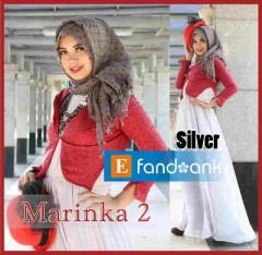 baju muslim modern dan elegan Pusat-Gamis-terbaru-New-Marinka2-Silver