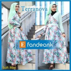 model baju muslim modern Pusat-Gamis-terbaru-Terranova-by-Efandoank-Soft-Mint