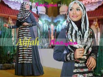 model baju muslimah modis Gamis-Terbaru-Alifah-by-Nasywanisa-Abu