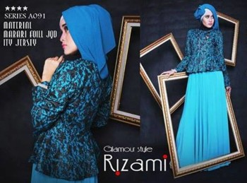 baju muslim gaya hijabers Gamis-Terbaru-BALIMO-RIZAMI-Vol-III-Tosca