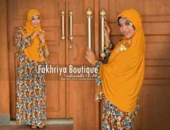 model busana muslim modern untuk pesta Pusat-Gamis-Terbaru-Agniya-Dress-Golden