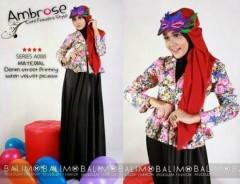 baju muslimah trendy Pusat-Gamis-Terbaru-Balimo-Ambrose-Hitam