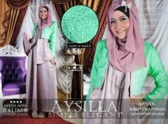 baju muslim modern full Pusat-Gamis-Terbaru-Balimo-Aysilla-Mocca