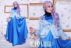 busana hijab Pusat-Gamis-Terbaru-Balimo-Neysha-Beauty-Style-Biru