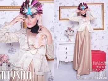 baju muslim terbaru Pusat-Gamis-Terbaru-Balimo-Neysha-Beauty-Style-Brown