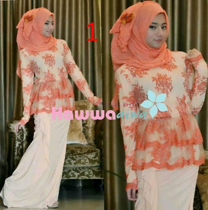 Rossel By Hawwaaiwa Kode 1 Baju Muslim Gamis Modern