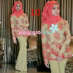 baju muslim modern Pusat-Gamis-Terbaru-Rossel-by-Hawwaaiwa-Kode-10