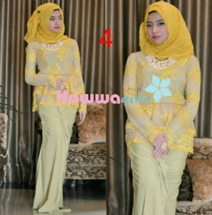 model baju terbaru muslim Pusat-Gamis-Terbaru-Rossel-by-Hawwaaiwa-Kode-4