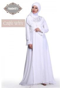 sarimbit couple online Pusat-Gamis-Terbaru-Syura-Dress-by-Nanbells-White