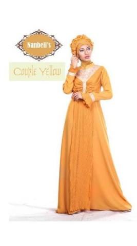 sarimbit keluarga cantique Pusat-Gamis-Terbaru-Syura-Dress-by-Nanbells-Yellow
