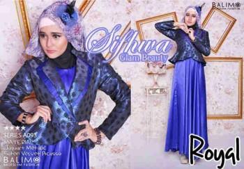 baju diner muslimah Pusat-Gamis-terbaru-Balimo-Sifhwa-Royal