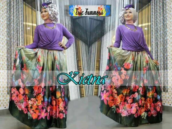 baju muslim trendy Pusat-Gamis-terbaru-KIETNA-by-Ericsummer-Ungu