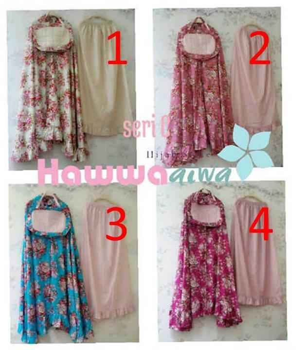 Mukena Humaira Seri C Baju Muslim Gamis Modern