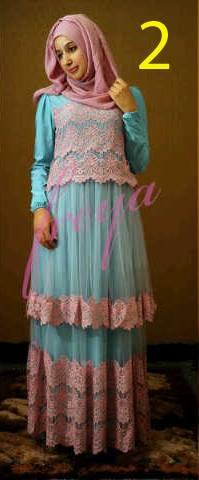 baju muslim terbaru 2014 Pusat-Gamis-terbaru-Queenella-by-Freya-Kode-2