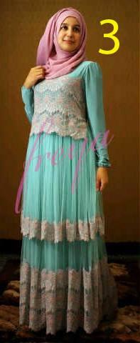 baju muslimah modern terbaru Pusat-Gamis-terbaru-Queenella-by-Freya-Kode-3