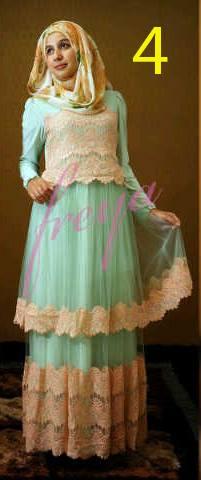 baju muslim modern Pusat-Gamis-terbaru-Queenella-by-Freya-Kode-4
