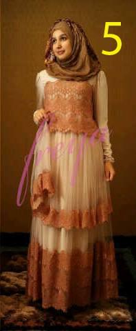 baju muslim pesta terbaru Pusat-Gamis-terbaru-Queenella-by-Freya-Kode-5