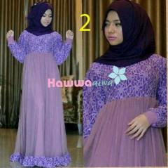 baju muslim etnik Pusat-Gamis-terbaru-RAYA-TULE-by-Hawwa-Aiwa-Kode-2