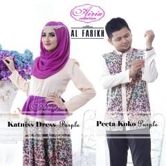 baju gaun online Gamis-Terbaru-Katnis-Dress-dan-Peeta-Koko-Purple