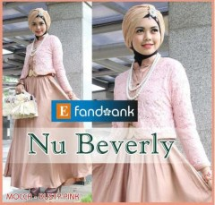 baju pesta online shop Gamis-Terbaru-Nu-Beverly-by-Efandoank-Mocca-Dusty-Pink