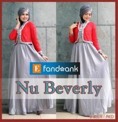 baju pesta hijab modern Gamis-Terbaru-Nu-Beverly-by-Efandoank-Silver-Red