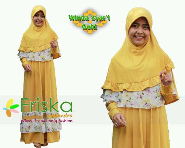 Model Baju Fashion Gamis-Terbaru-Winda-syari-Gold