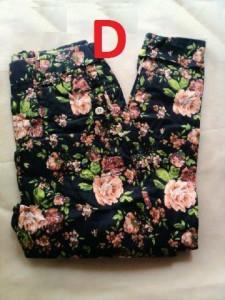 model baju pesta muslim elegan Gamis-terbaru-Pants-Flowers-Kode-D