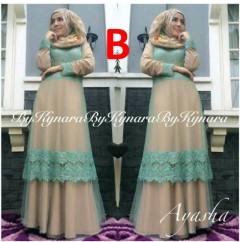 baju pesta muslim terbaru Pusat-Gamis-Terbaru-Ayasha-by-Kynara-Kode-B