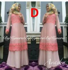 baju pesta resmi Pusat-Gamis-Terbaru-Ayasha-by-Kynara-Kode-D