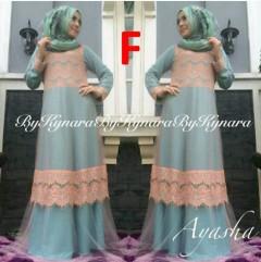 baju pesta facebook Pusat-Gamis-Terbaru-Ayasha-by-Kynara-Kode-F