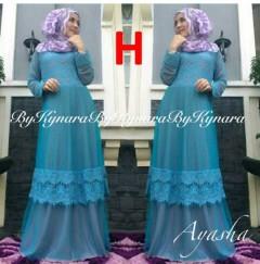 baju pesta wanita online Pusat-Gamis-Terbaru-Ayasha-by-Kynara-Kode-H