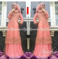 baju pesta wanita dewasa Pusat-Gamis-Terbaru-Ayasha-by-Kynara-Kode-I