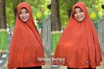 foto model baju pesta Pusat-Gamis-Terbaru-Bergo-Fakhriya-Bata