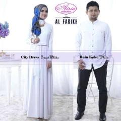 baju pesta terkini Pusat-Gamis-Terbaru-City-Dress-by-Airia-White