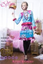 baju pesta modern Pusat-Gamis-Terbaru-Esme-Royal-Princess-E-020804