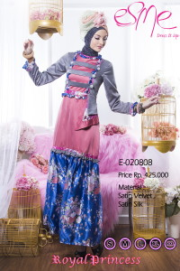 model baju pesta jilbab Pusat-Gamis-Terbaru-Esme-Royal-Princess-E-020808