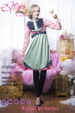 model baju pesta anak perempuan Pusat-Gamis-Terbaru-Esme-Royal-Princess-E-020822b