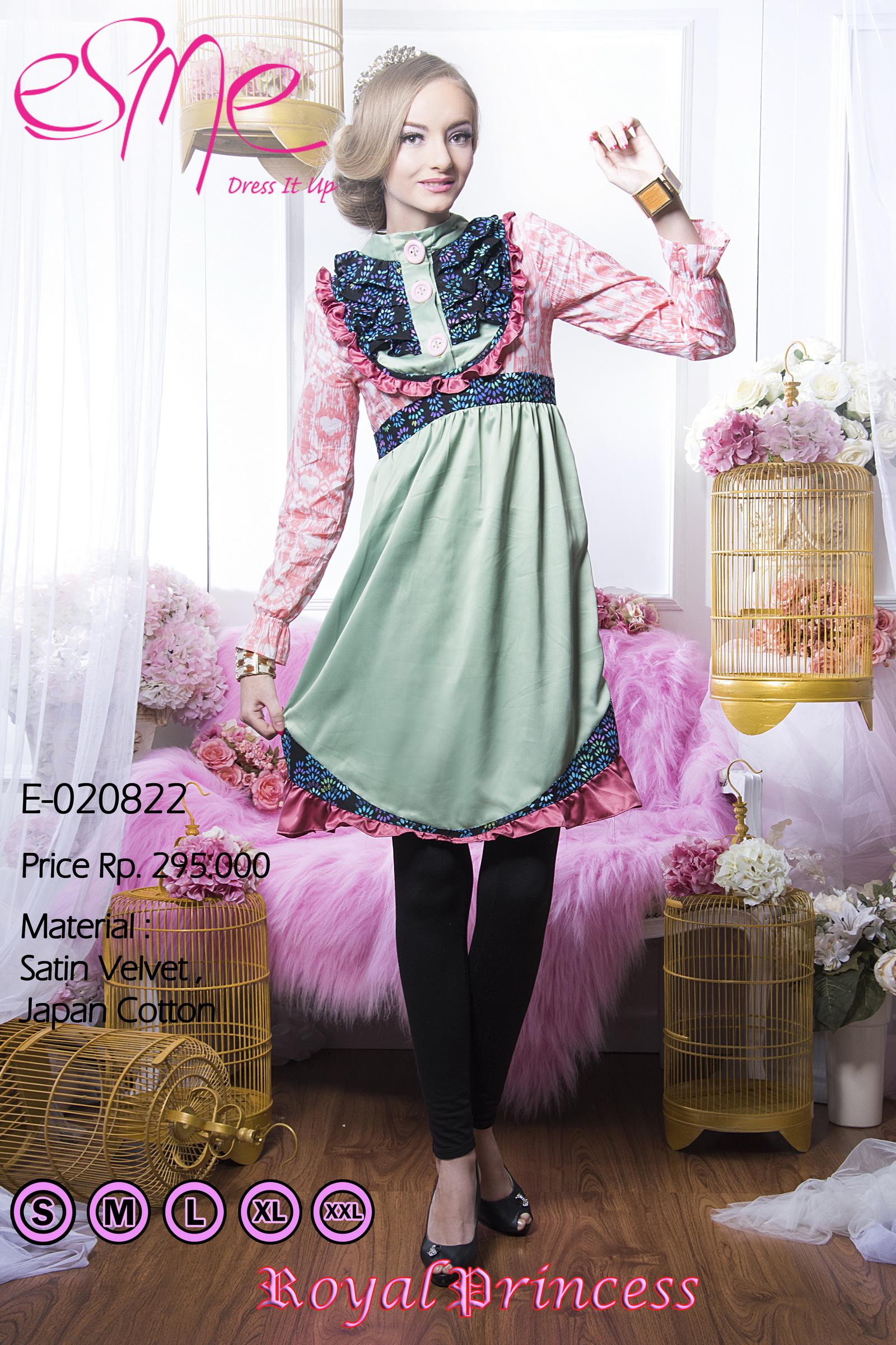 Esme Royal Princess E 20822 Baju Muslim Gamis Modern