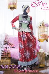 model baju pesta gamis Pusat-Gamis-Terbaru-Esme-Royal-Princess-E-020825